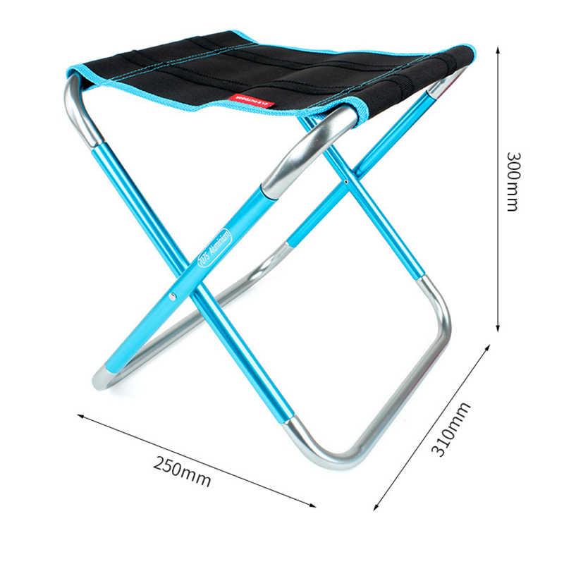 SJ-MAURIE на природе Рыбалка походы стул портативный алюминиевый складной стул табурет сиденье для пикника барбекю рыболовное кресло Подшипник нагрузки 100 кг