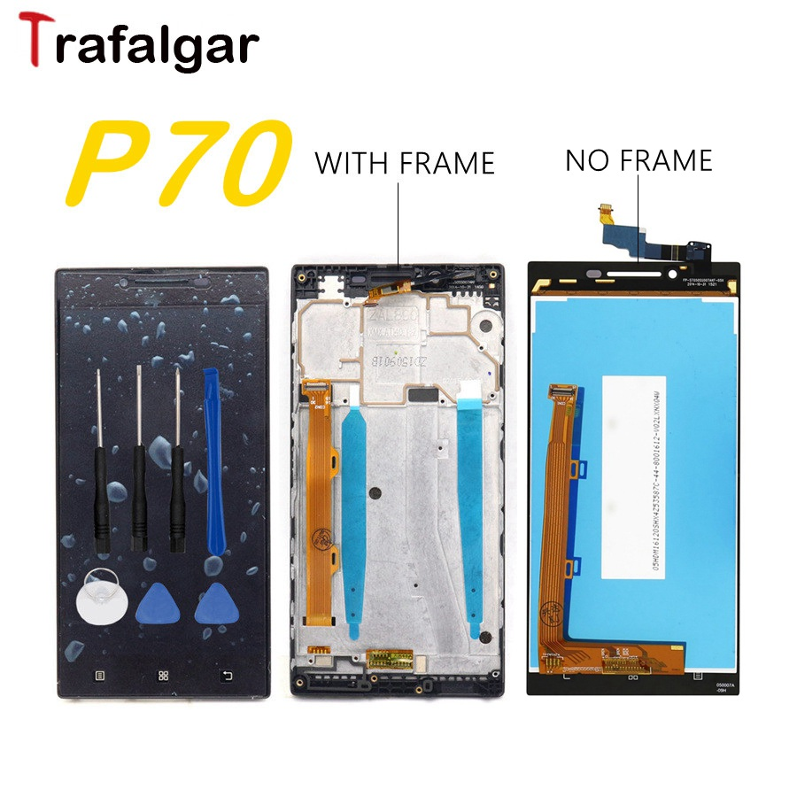 Assembly Lcd-Display Touch-Screen Lenovo P70 P70-A Frame Digitizer For