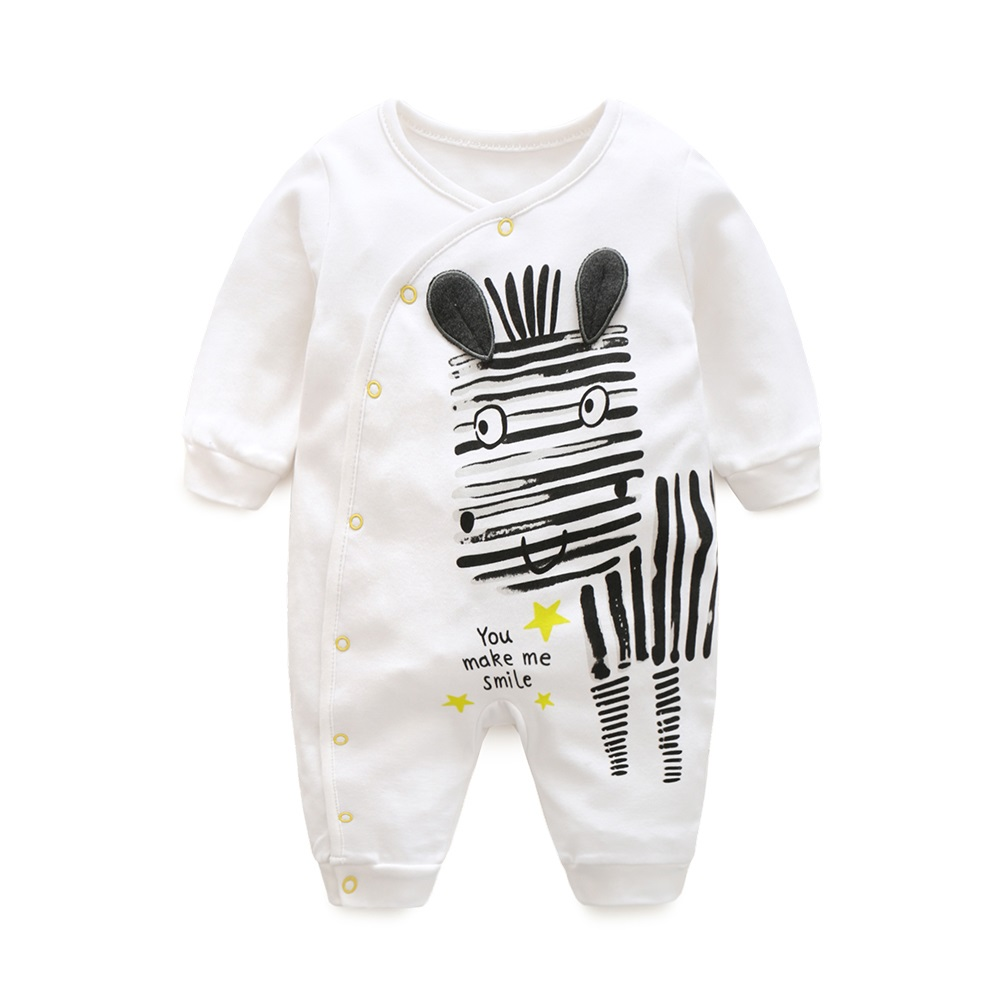 Hooyi Zebra Baby Pajamas Rompers Body suits Cotton boy clothing bebe girls jumpsuit Newborn one-pieces Clothes 0-12Month boy girl rompers autumn baby cotton one pcs rompers baby long sleeve jumpsuit bebe coverall baby pajamas