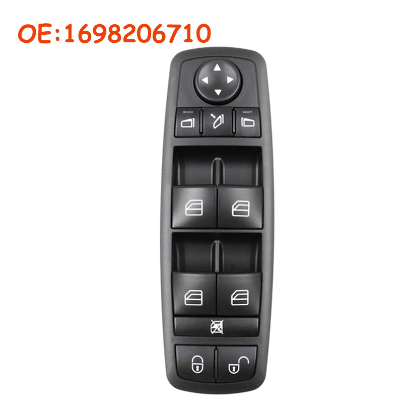 Car accessories OEM <font><b>1698206710</b></font> A1698206710 For Mercedes Benz W169 A-Class W245 B-Class Electric Power Master Window Switch image