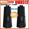 2PCs/LOT 200W Spray Fire Machine Dmx Flame Projectors Stage Equipment DMX Fire Machine Stage Flame machine Fire Machine