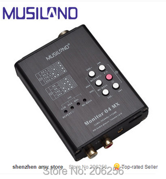 New Promotions Free shipping MUSILAND Monitor 04 MX Both USB Sound Card and Hifi Player 32 bit HD audio playersound card Звуковая карта
