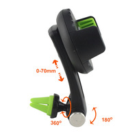 Foldable Auto Suction Mounts Mobile Phone Car Air Vent Clip Holders Stand For Xiaomi Mix EVO