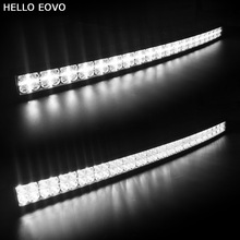 Hello eovo 7D изогнутые 42 дюймов 400 Вт с DRL светодиодный свет бар для трактора лодка Offroad 4WD 4×4 грузовик внедорожник ATV Combo луча 12 В 24 В