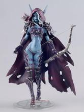 WOW figure toy Lich King Alsace Sylvanas Windrunner classic toys for boys with retail box