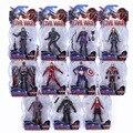Lendas maravilha Guerra Civil Vingadores Capitão América Homem De Ferro Preto viúva Negra Pantera Feiticeira Escarlate Formiga Homem Figura de Ação DO PVC brinquedo