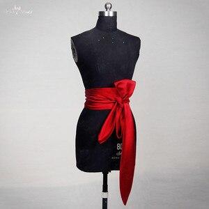 Image 1 - RSS12 Red Satin Wedding Belt