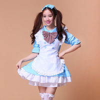 8 Colors Lovely Anime Role Playing Cartoon Akihabara Lolita Princess Sexy Cosplay Costume Japan House Maid