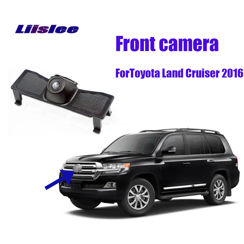 LiisLee For Toyota Land Cruiser 2016 Car Special Front HD High Quality Camera Waterproof Night Vision CCD