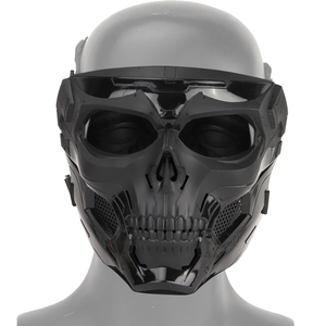 Image 2 - Тактическая Маска с черепом для пейнтбола на все лицо защитный Быстрый Шлем для военных страйкбола маски CS чехол для лица