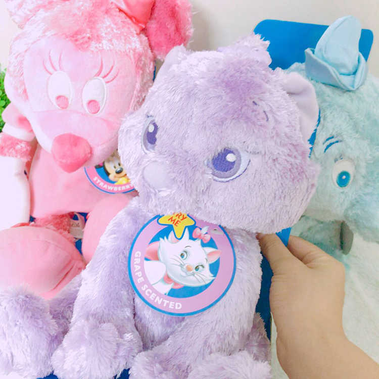 25 cm perfumada plush doll, Dumbo, pequeno cão amarelo, pequeno gato roxo, rosa pequeno rato
