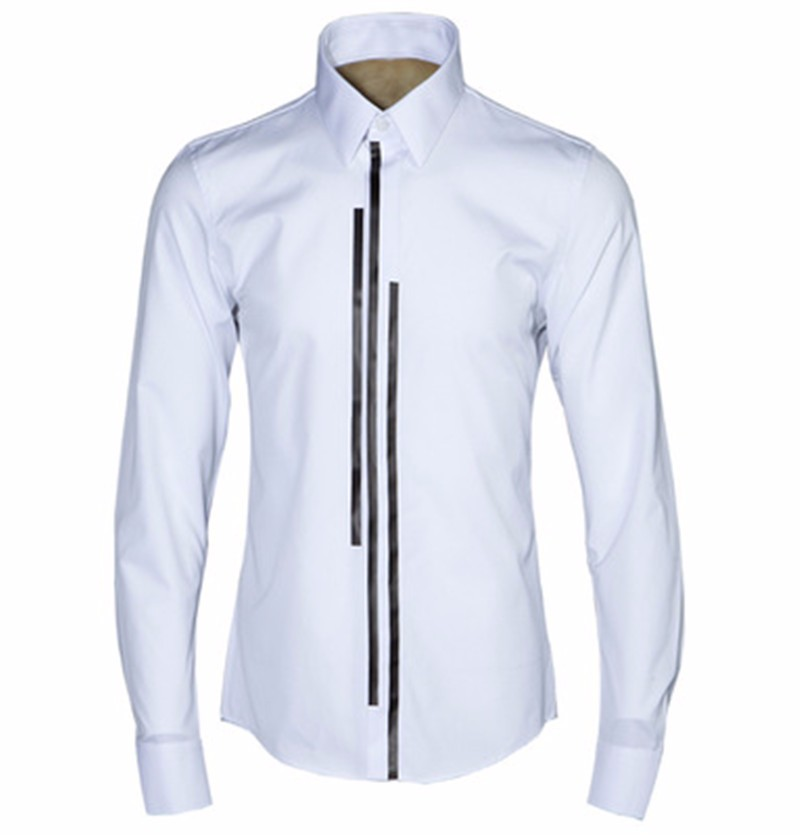 luxury Men dress shirt -13