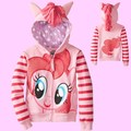 2017 Spring Children Clothing little Pony Sweater Hoodies Coat For Girls Sweatshirt Kids Jerseys Jacket