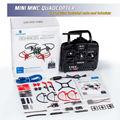 DIY Electrónica Quad Drone Quadcopter MWC Multiwii 6D-Box Starter Kit Para Arduino con 2.4 GHz RC 6-Axis Gyro