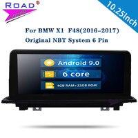 Roadlover Android 9,0 автомобильный мультимедийный плеер для BMW X1 F48 (2016 2017) Стерео gps навигация Automagnitol 2Din радио без DVD MP4
