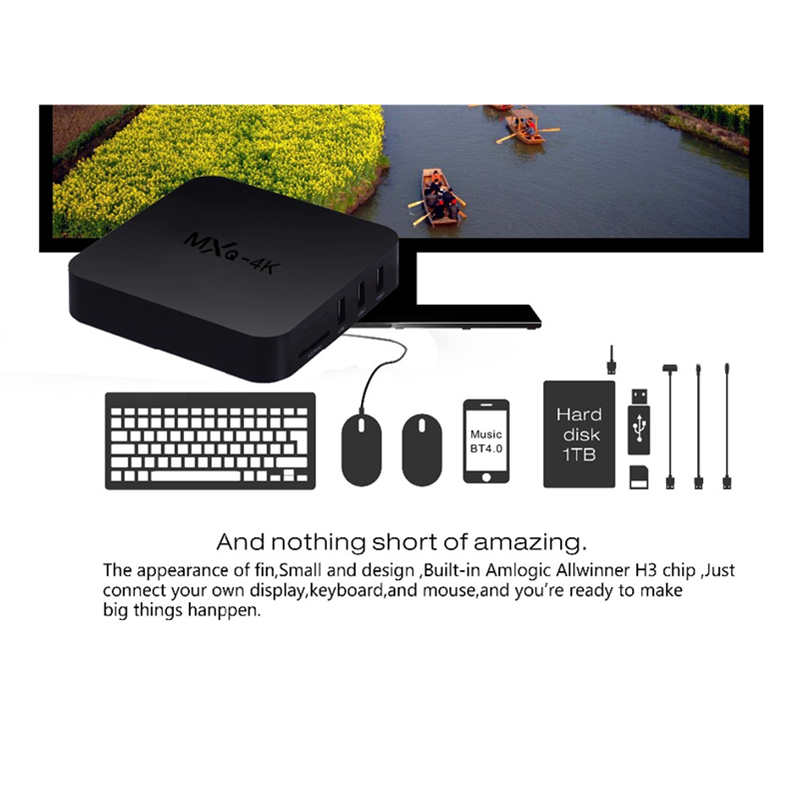 Image 5 - Android 7.1 Smart TV BOX Allwinner Quad Core 2GB 16GB 2.4GHz 4K Wifi Google Play Netflix Media player Set top Box TV Receiver-in Set-top Boxes from Consumer Electronics