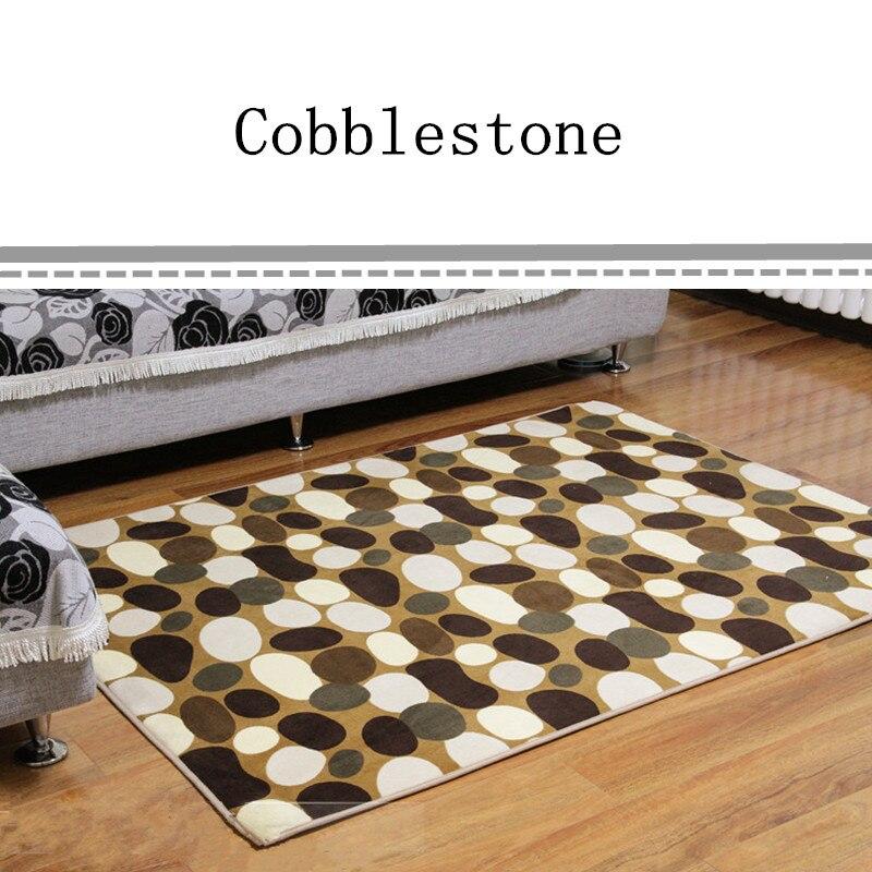 Free Shipping 50cmX80cm Bath Mat Chair Cushion Scenic Floor Carpet Home Decor Doormat Fashion Absorbent Non-Slip Prayer Mats