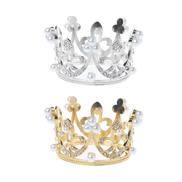 1Pc Newborn Girls Boys Photography Gold Crown Props Little Baby Photo foto shooting Crown Accessories Infant Prop New