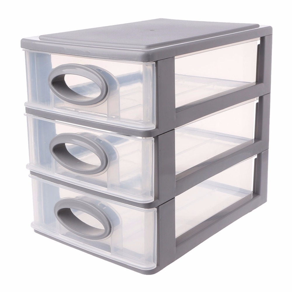 Desk Top Drawers New 3 Layer 4 Layer 5 Layer Plastic Makeup Drawer Desktop Drawer