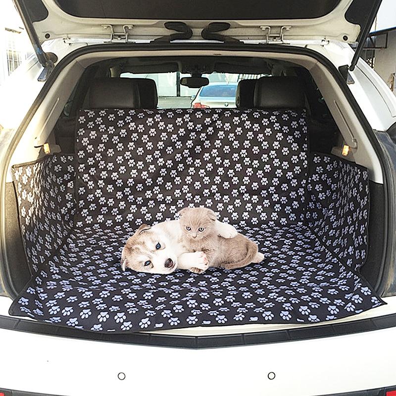 New Black Car Seat Cover Protector Waterproof/&Boot Liner Mat Pet Dog Animal Rear
