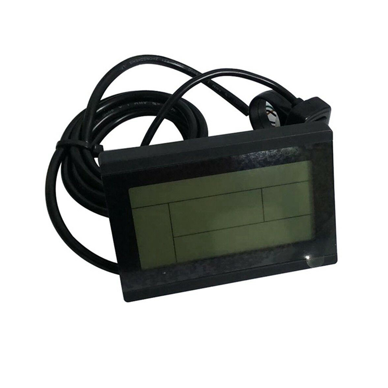 Perfect Display Monitor For Electric bike Scooter 24V 36V 48V Intelligent Control panel Black Replacement KT LCD3 LCD Module 8