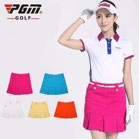 PGM Skirt Ma'am Motion Pantskirt Summer Short Ladies Sports Culottes Clothing Korean Version Of womens Golf skort
