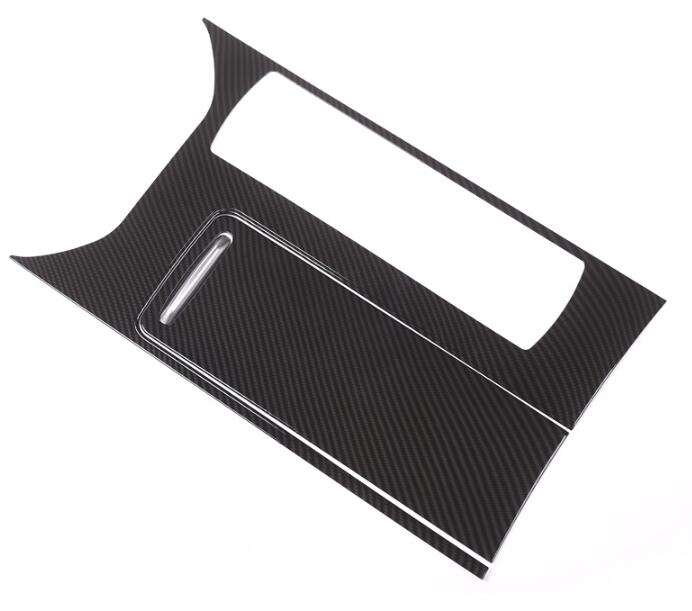 New!! Carbon Fiber Style For Landrover Range Rover Sport RR Sport 2014 2017 ABS Plastic Center Console Panel Cover Trim Parts