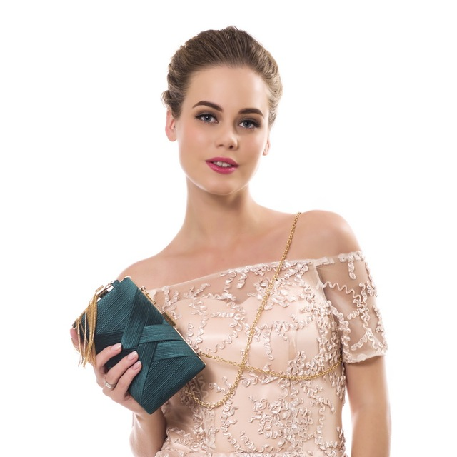 SEKUSA Tassel Fashion Ladies Day Clutch Bag Small Shoulder Handbags Female Party Wedding Evening Bag For Women Phone Purse 3