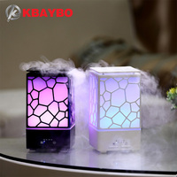 200ml Aroma Essential Oil Diffuser Ultrasonic Air Humidifier Aromatherapy Mist Maker Office LED Lights Aroma Diffuser