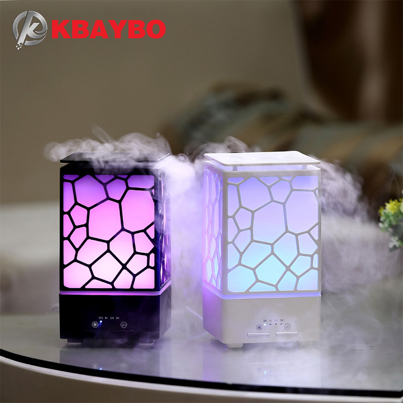 200ml Aroma Essential Oil Diffuser Ultrasonic Air Humidifier Aromatherapy Mist Maker Office LED Lights Aroma Diffuser For Home