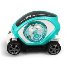 3D Light Toy Car Colorful Music Cartoon Electric Rotating Simulation