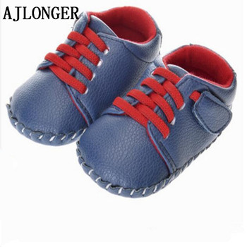 AJLONGER New Hot Sale Baby Girl Boys Handmade Shoes Toddler First Walkers 3 colors