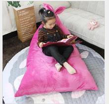 Children's sofa cartoon seat girl boy baby chair lazy tatami single cushion child gift Multi function Storage bean bag цена 2017