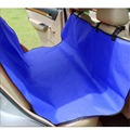 Waterproof Pet Seat Cover Blanket Dog Car Back Seat Travel Hammock Washable Pet Dog Barrier Protector for Cars and SUV