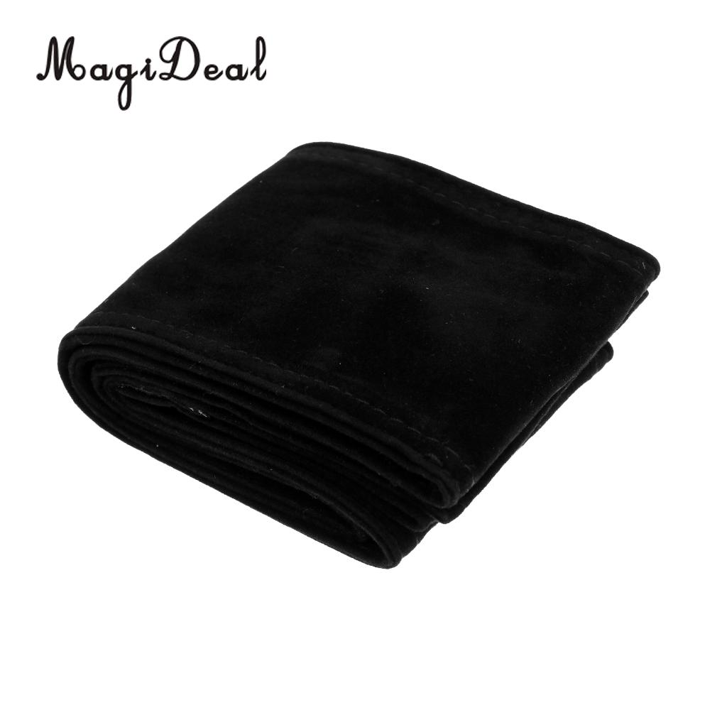 MagiDeal Good Quality Flannel Lightweight Soft Pool Cue Case Billiards Bag for 1Pc 3/4 Snooker Stick Table Game Accessory Black