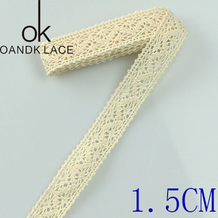 HTB1Dn7tz4uTBuNkHFNRq6A9qpXaT 4YARD Apparel Sewing Fabric DIY Ivory Cream Black Trim Cotton Crocheted Lace Fabric Ribbon Handmade Accessories Craft 11021