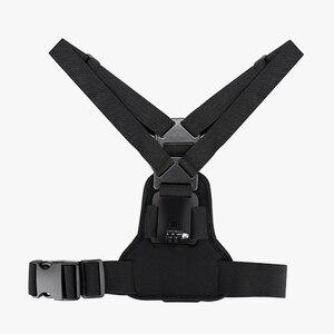 Image 2 - Vamson git Pro aksesuarları için elastik vücut koşum kayışı göğüs kemeri dağı Gopro Hero için 8 7 6 5 için yi SJCAM kamera için VP204