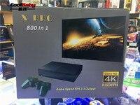 CoolBaby 64 бит Поддержка 4K Hdmi выход Ретро видео игровая консоль 800 классические Семейные видеоигры Ретро игровая консоль для ТВ X PRO