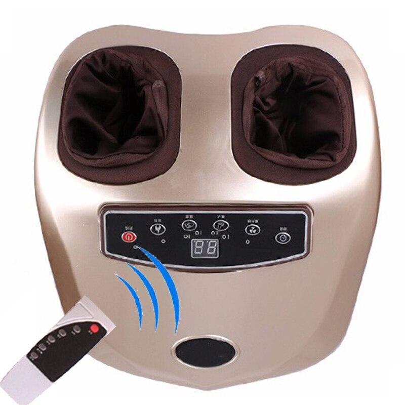 220 V électrique anti-stress masseur de pieds vibrateur machine de massage des pieds appareil de soins des pieds infrarouge avec chauffage et thérapie prise EU