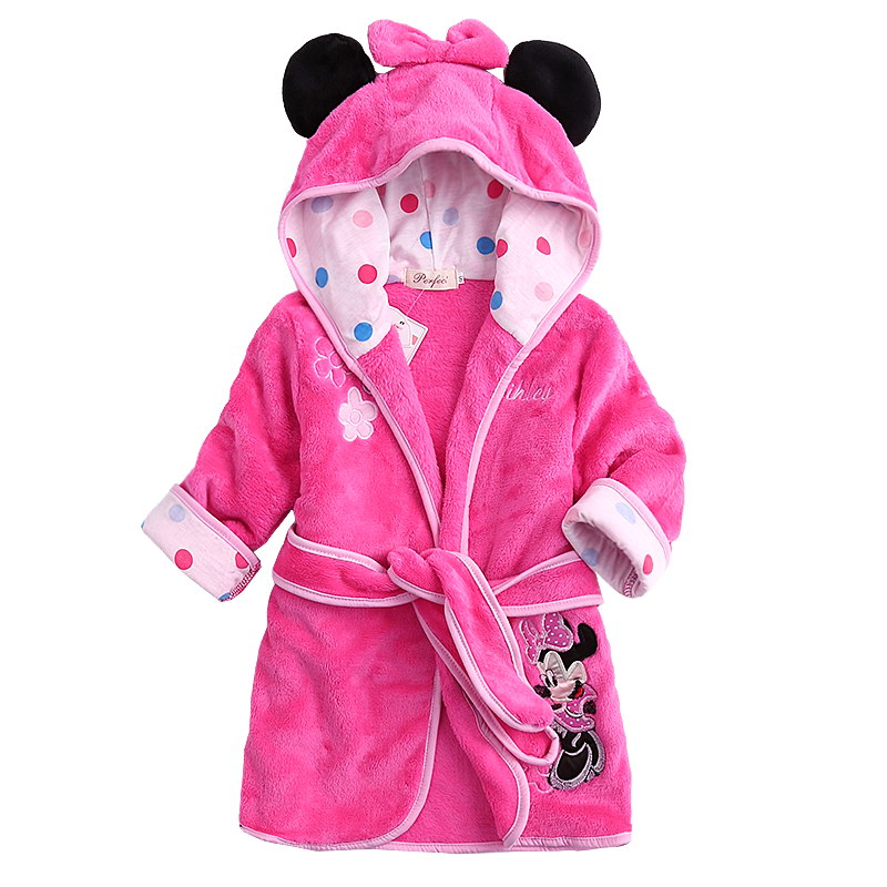 Old Fashioned Childrens Minnie Mouse Dressing Gown Model - Best ...
