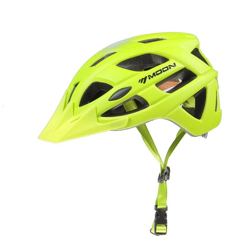Moon 自転車ヘルメットプロ MTB サイクリングヘルメットの男性と女性の保護高品質統合成形自転車ヘルメット  グループ上の スポーツ & エンターテイメント からの 自転車用ヘルメット の中 2