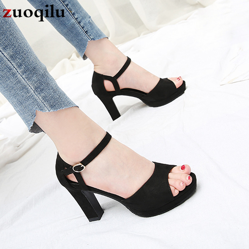 2019 <font><b>Platform</b></font> <font><b>High</b></font> <font><b>Heels</b></font> <font><b>Sandals</b></font> Summer Shoes <font><b>Sexy</b></font> Ankle Strap Open Toe Gladiator Party Dress Women Shoes <font><b>high</b></font> <font><b>heels</b></font> <font><b>sandals</b></font> image