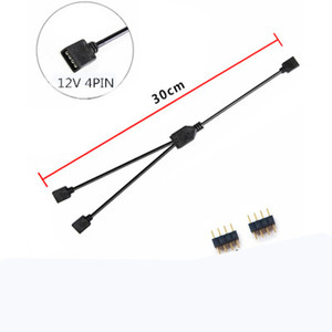 Image 5 - Extension Cable For Motherboard Interface 5V3PIN/12V4PIN AURA RGB 1 2/3/4 Interface Splitter Addressable D RGB SYNC Hub JST 3Pin