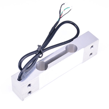 Elektronik tartı Tartı Sensörü, 0-50 kg/110LB alüminyum alaşımlı malzeme Koruyucu Kablo Paralel kiriş yük hücresi Sensörü