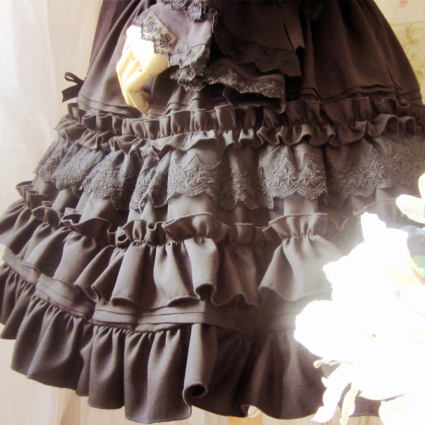 Costume Alt17 Buste Jupe New Parti black Lolita 2015 Noir Gothic Mode Beige Beige Dentelle PfBn11Uwx