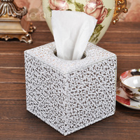 Silver Eagle Decorative Pattern Tissue Paper Towel Tube Pumping Tissue Roll Paper Tube Box Roll Box