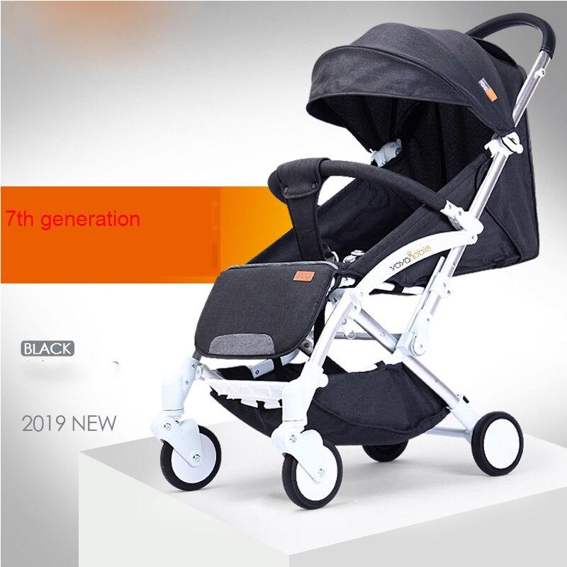 2019 nouveau chariot automatique léger, léger pliant, assis et inclinable, pliage automatique, 0-5 ans chariot de bébé - 6