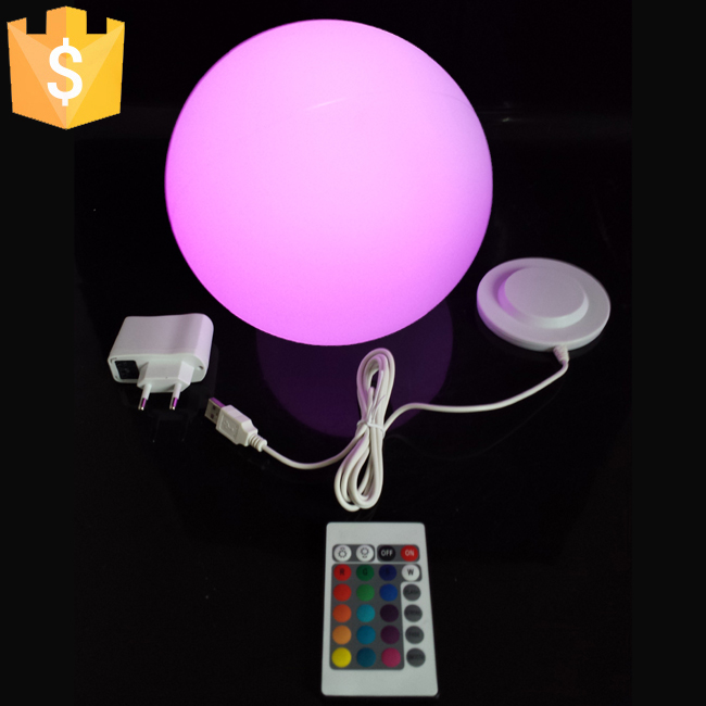 D30cm Waterproof Led Ball Outdoor Lamp Glowing Plastic For Christmas Decoration Free Shipping 1pc