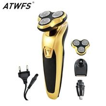 New Shaver for Electric Men Shaving Gold