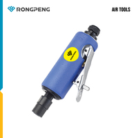 RONGPENG PROFESSIONAL 1 4 6MM MINI DIE DRINDER RP7305 WITHOUT GRINDING STONE PNEUMATIC POLISHING TOOL